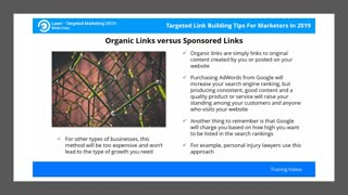 Targeted Link Building Tips For Marketers