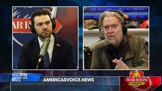Bannon and Posobiec on Coalition between MAGA and Gen Z against Elites
