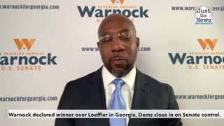 Warnock declared winner over Loeffler in Georgia as Democrats close in on Senate control