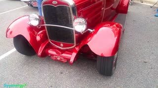 1931 FORD , in Deep Red, Florida Car Show