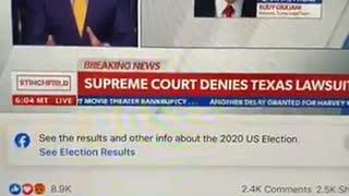 December 11 - BREAKING!! SCOTUS rejects Texas lawsuit.