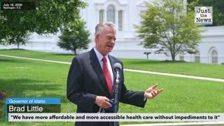 Idaho Governor Brad Little talks about Idaho's access to healthcare amid coronavirus