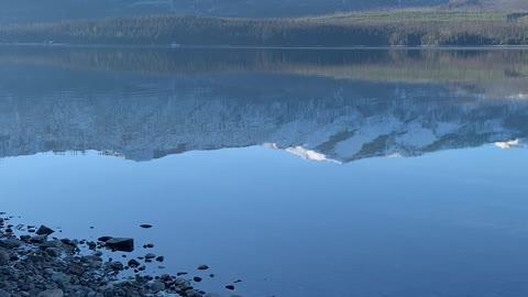 My view at Glacier Park Montana