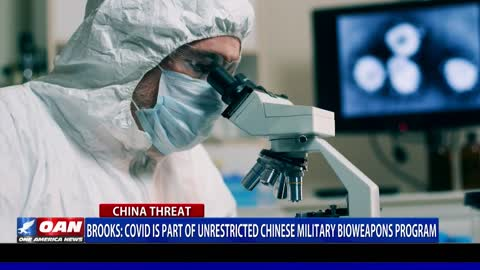 Rep. Brooks: COVID is part of unrestricted Chinese military bioweapons programs