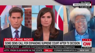 Crazy CNN Guest Calls on Biden to Create Federal Abortion Force...!!