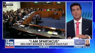 Cory Booker likes the spotlight according to Jesse Watters