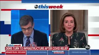 Discombobulated Pelosi Blames Trump For Broken Border System