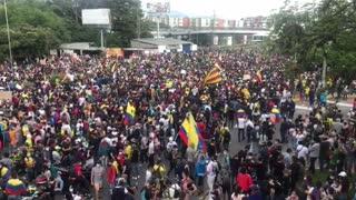 Panorama de protesta en Provenza | lunes