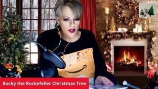 Rocky: The Rockefeller Christmas Tree Coloring Book