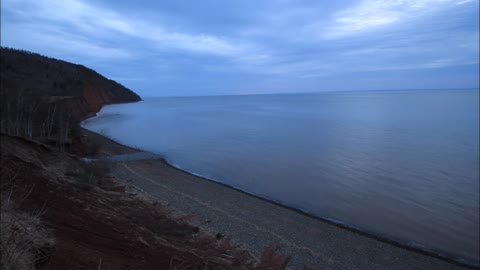 Time Lapse Shows Amazing Tide Change Over The Course Of 5 Hours