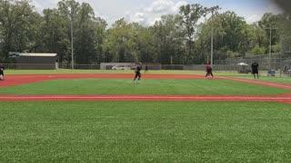 Zoe pitching 2