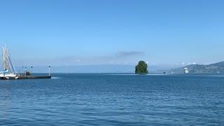 Lac Léman vue de Villeneuve