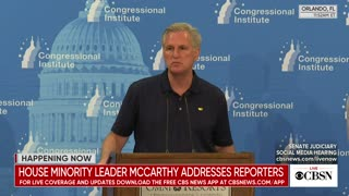 McCarthy Dodges Question About Liz Cheney Being 'A Good Fit' For House Leadership