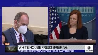 Biden Press Sec Has Most Cringe Moment Yet When Asked Legit Question