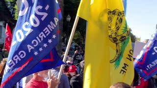 Sacramento Stop The Steal Rally