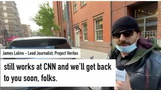 Anderson Cooper Dodging Reporter about CNN Leak!