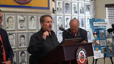 Felix Rodriguez Receives Gov Medal of Freedom: Pepe Diaz