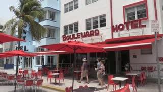 Los primeros turistas del postconfinamiento comienzan a llegar a Miami Beach