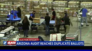 Ariz. audit reaches duplicate ballots