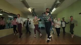 Lebron James dancing salsa