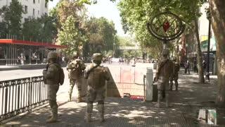 Tras el cuarto día de protestas en Chile se registran 13 muertos