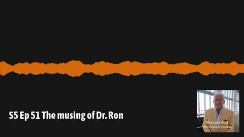 Musing of Dr. Ron