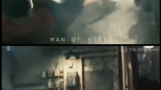 One verses all.Parallels between Mos & BvS.