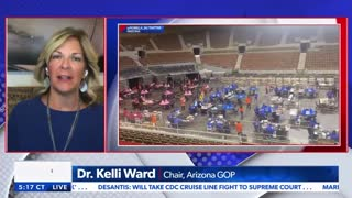 Maricopa County Election Audit Senate Hearing Coverage on Newsmax (July 2021)