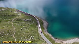 AMAZING VIEW OF THE TRAIN