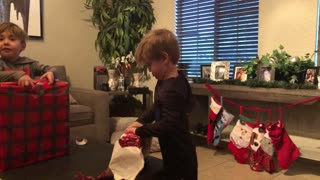 Toddler Has Had Enough of Grandma's Gag Gifts
