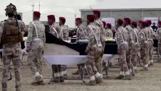 Yazidi buries father seven years after massacre