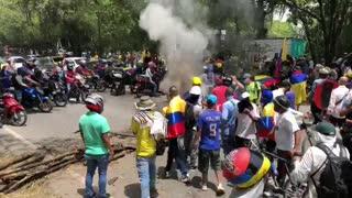 Nueva marcha entre Piedecuesta y Bucaramanga