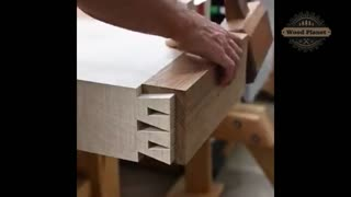 Fitting two pieces of wood together perfectly! | Woodwork Planet