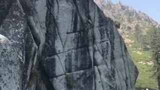 Lake Tahoe cliff diving