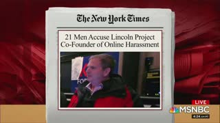 """Lincoln Project Co-Founder Left """"Speechless"""" When Confronted"""