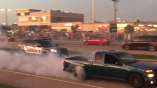 Police Not Impressed with Burnout