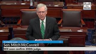 Senate confirms Trump's 200th judicial nominee.