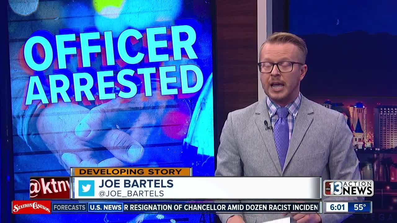 Retired police officer arrested