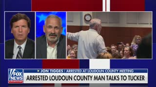 WATCH: Father Arrested at Virginia School Board Meeting Speaks Out with Tucker Carlson