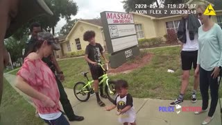 Bodycam Shows Deputies Bring Wandering Toddler Back To His Mother