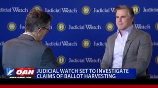 Judicial Watch To Investigate California Ballot Harvesting!