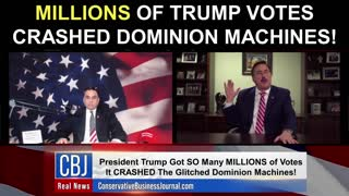 My Pillow CEO and Founder Mike Lindell Shares how MILLIONS of Trump Votes Crashed Dominion Machines!