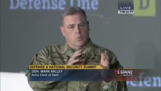 Milley: China is not the enemy.