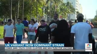 UK Variant Is Now Dominant Coronavirus Strain In America | TODAY