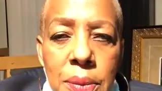 Democratic State Rep. Cynthia Johnson threatening Trump supporters
