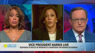 Kamala Harris Again Won't Say When She, Biden Will Visit The Border