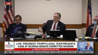 Witness #17 Speaks at GA Senate Committee Hearing on Allegations of Election Fraud. 12/03/20.