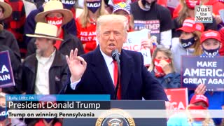 Trump on winning Pennsylvania