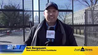 Ben Bergquam live from the Capitol talks impeachment