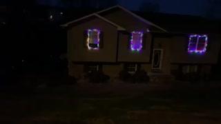 Nightly Christmas lights